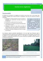 FT1 gestion de la végétation - Agence de l'Eau Rhin-Meuse