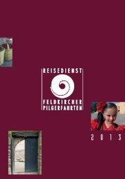 Jahresprogrammheft 2013 - Werk der Frohbotschaft Batschuns