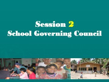School Governing Council - DepEd Naga City