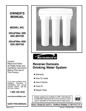 Reverse Osmosis Drinking Water System - Home | National Trade ...