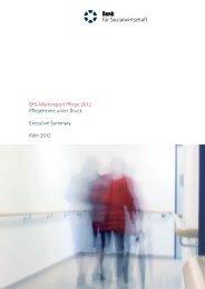 BFS-Marktreport Pflege 2012 Pflegeheime unter Druck Executive ...