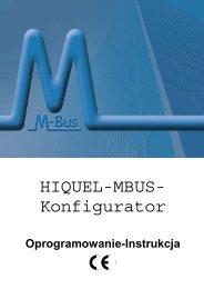 HIQUEL-MBUS- Konfigurator