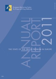 the state of the drugs problem in europe - EMCDDA - Europa