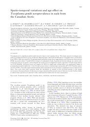 Spatio-temporal variations and age effect on ... - ResearchGate