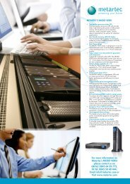 For further information on Metartec's MICRO 1500 VERSI UPS ...