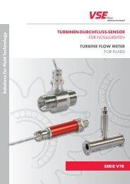 SERIE VTR Solutions for Fluid Technology TURBINEN ...