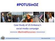 US Embassy in Australia_Alison Barnard - The PR Report