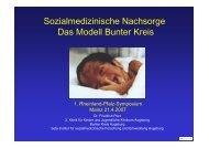 Der Bunte Kreis - Früh- und Risikogeborene Kinder Rheinland-Pfalz