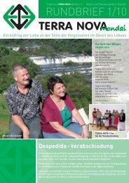 Despedida - Verabschiedung - Terra Nova Mondai eV