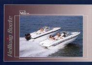 Prospekt Milos V 585 und Milos IB.cdr - Hellwig Boote