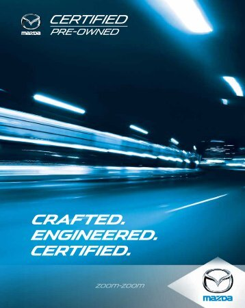 Certified Pre-Owned Brochure - Mazda Canada