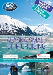 EXPEDITION CRUISING - The Cruise Broker