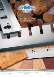 knives for the wood processing industry - TKM Austria GmbH
