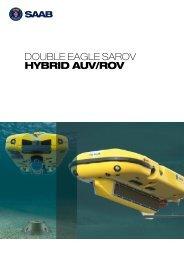 DOUBLE EAGLE SAROV HYBRID AUV/ROV - Seaeye