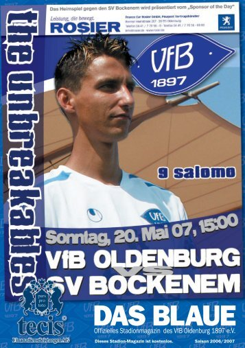 SV Bockenem - VfB Oldenburg