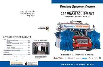 CAR WASH EQUIPMENT