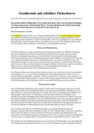 Geothermie mit erhöhter Fieberkurve - Verein Geothermie Thurgau