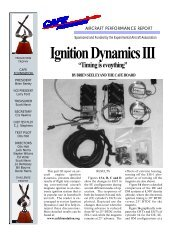 Ignition Dynamics III - CAFE Foundation