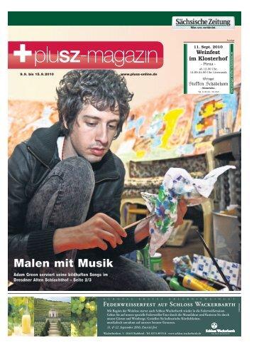 Malen mit Musik - Sächsische Zeitung