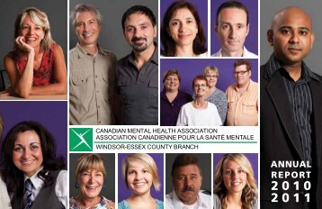 ANNUAL REPORT - Canadian Mental Health Association
