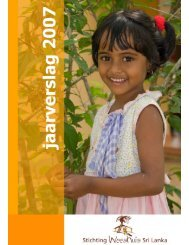 klik hier - Stichting Weeshuis Sri Lanka