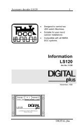 Information LS120 - Lenz USA