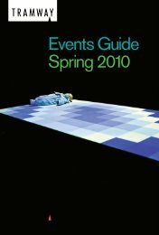 Tramway Spring 2010 Events Guide - Glasgow Life
