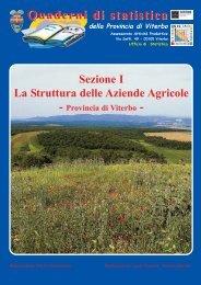 Quaderni di statistica Sezione I La Struttura delle Aziende Agricole
