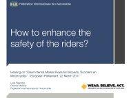 FIA - Right To Ride EU