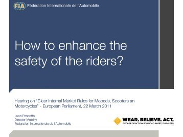 FIA - Right To Ride EU
