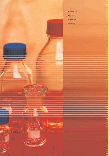 2 FLASCHEN BOTTLES FLACONS FRASCOS - Lasalle Scientific Inc.
