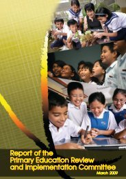 Report of the Primary Education Review and Implementation - Login