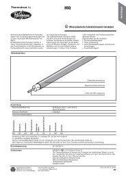 Datenblatt HSQ - HENNLICH GmbH & Co KG