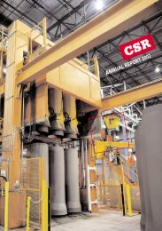 Annual report - CSR