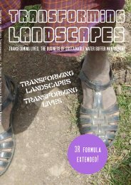 Transforming Landscapes – Transforming Lives • The ... - Hydrology.nl
