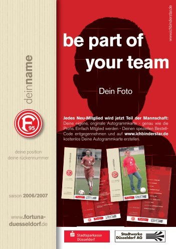 be part of your team