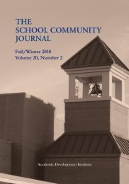 Fall/Winter 2010 Volume 20, Number 2 - Academic Development ...