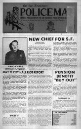 January 1980 - San Francisco Police Officers Association