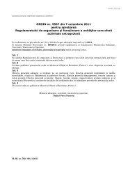 ORDIN nr. 5567 din 7 octombrie 2011 pentru aprobarea ...
