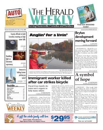 A symbol of hope - Carolina Weekly Newspapers
