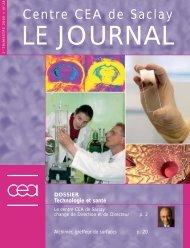 Journal de Saclay n°28 - CEA Saclay