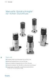 Manuelle Gasdruckregler für hohen Durchfluss, Serie HF - Swagelok