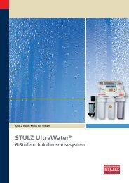 STULZ UltraWater ® Prospekt - STULZ GmbH