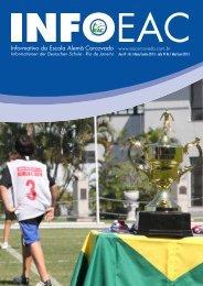 Informativo 1 / 2013 (.pdf) - Escola Alemã Corcovado