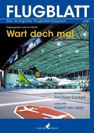 Ausgabe 4/07 - Flughafen Stuttgart