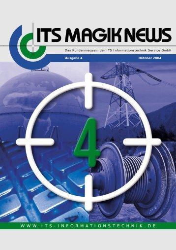 its magik news 2004 - ITS Informationstechnik Service GmbH