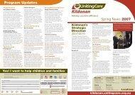 Program Updates - Kildonan UnitingCare