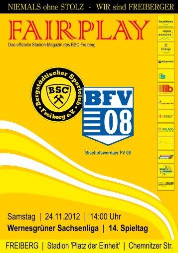 FREIBERG | Stadion 'Platz der Einheit' | Chemnitzer Str - BSC Freiberg