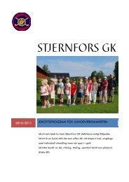 Stjernfors GK - Golf.se