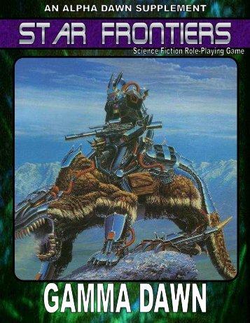 Star Frontiers - Gamma Dawn - Star Frontiersman